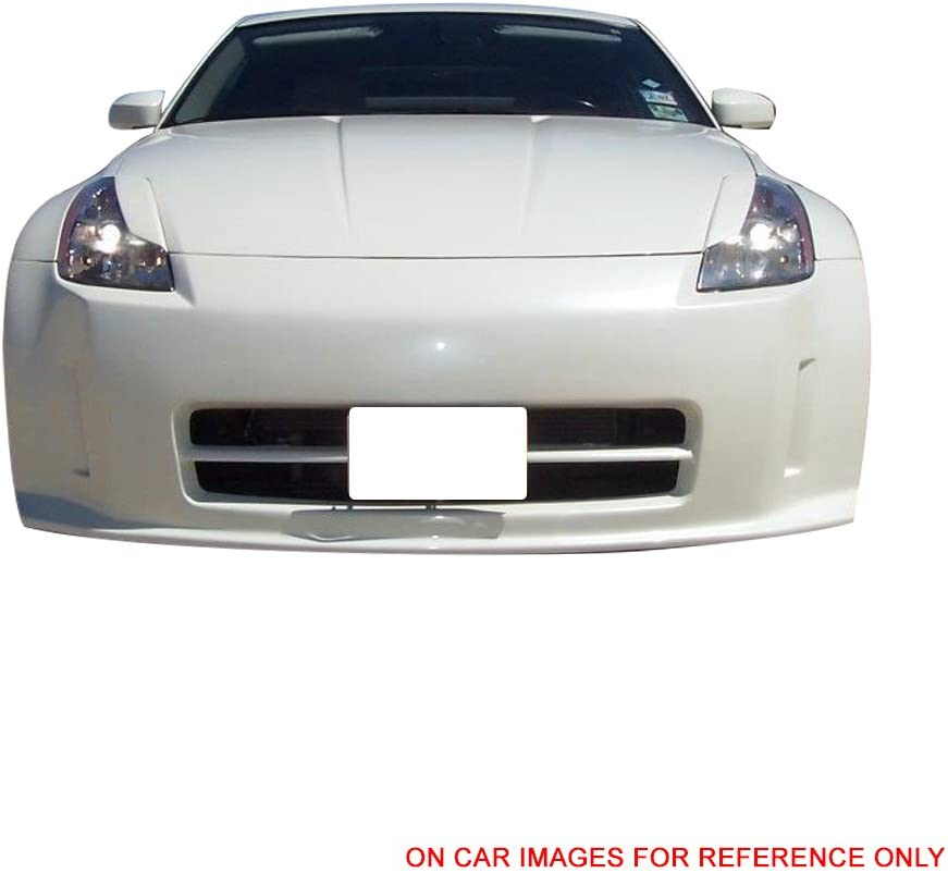 Painted #B17 Daytona Blue Metallic ABS Headlight Eyelids Eyebrows Cover Other Color Available By IKON MOTORSPORTS 2004 2005 2006 2007 Pre-Painted Eyelid Compatible With 2003-2008 Nissan 350Z