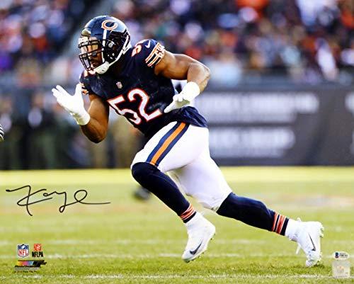 (Khalil Mack Autographed Signed Memorabilia 16x20 Photo Chicago Bears - Beckett Authentic)