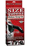 Pipedream Products Size Queenz Hollow Strap On, Black
