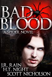 Bad Blood: A Vampire Thriller (The Spider Trilogy Book 1)