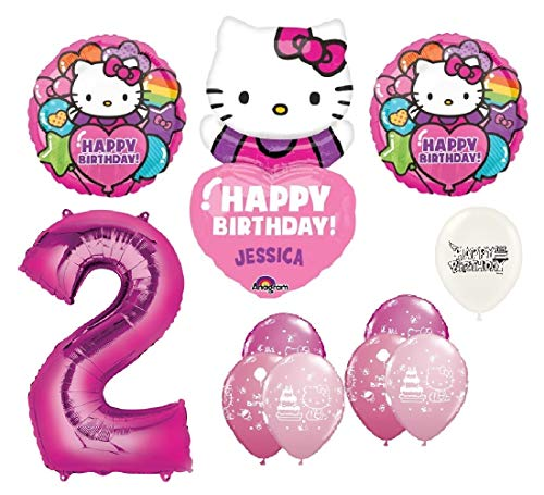 The Ultimate Personalized Hello Kitty 2nd Birthday Party