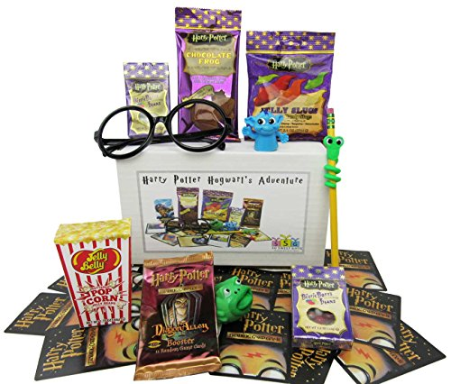 Harry Potter Hogwarts Adventure Goodies Gift (Harry Potter Chocolate Frog)