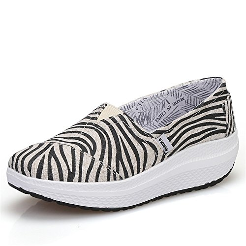 Femmes Chaussures Maille Printemps Automne Mocassins & Slip-Ons Conduite Chaussures Fitness Shake Chaussures Shake Chaussures Secouant Chaussures Mocassins plats Sneakers Casual / Voyage Chaussures at Une