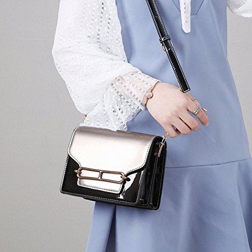 Handle Pink Totes Fekete Handbags Bags With Handbags Leather Womens Handbags Shoulder zAxgp
