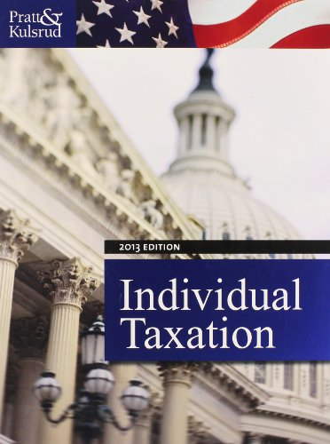 Individual Taxation 2013 (with H