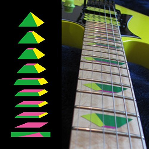 Steve Vai Signature Guitar - Fretboard Markers Inlay Sticker Decals for Guitar and Bass - Pyramid-GYP