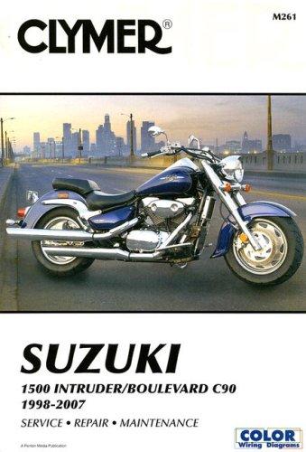 Clymer Suzuki 1500 Intruder/Boulevard C90 1998-2007 (Clymer Color Wiring Diagrams)