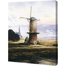 "PrintArt GW-POD-64-115770-23x30 Breeze Over Zeeland de Francis Mastrangelo Gallery envuelto Giclee lona, 23"" x 30"", 1, 1"