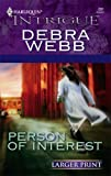 Person of Interest, Debra Webb, 0373886659