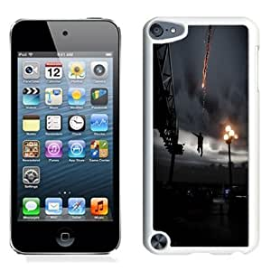 NEW Unique Custom Designed iPod Touch 5 Phone Case With Infamous Smoke Ability Jump City_White Phone Case
