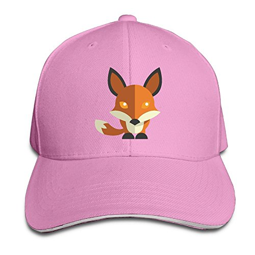 Fox Casual Unisex Unstructured Cotton Cap Adjustable Baseball Hat Cap - Columbus Malls Shopping
