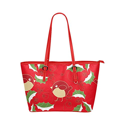[Xmas Christmas PU Leather Tote Shoulder Bag Handbag] (Nutcracker Costumes For Sale)