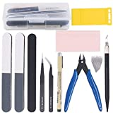Rustark 11Pcs Model Basic Tools Craft Set Car Model Building Repair Fix Kit For Gundam Modeler