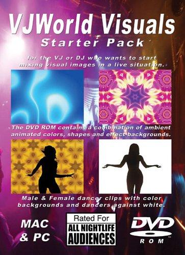VJ World Visuals Starter Pack: Backgrounds & Dancers (DVD) PDF