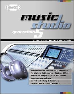 Magix Music Studio Generation 5  CD- ROM fuer Windows 95/98