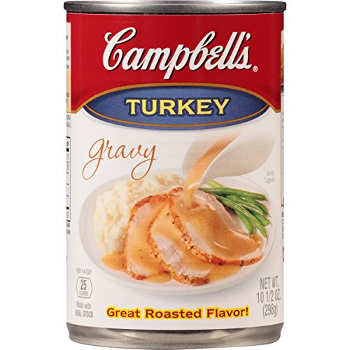 Campbell's Gravy, Turkey, 10.5 Ounce (Pack of 12) (Packaging May Vary) Campbells Turkey