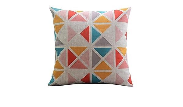 Dennis tienda k98fv (*) Patchwork triángulos cojín manta ...