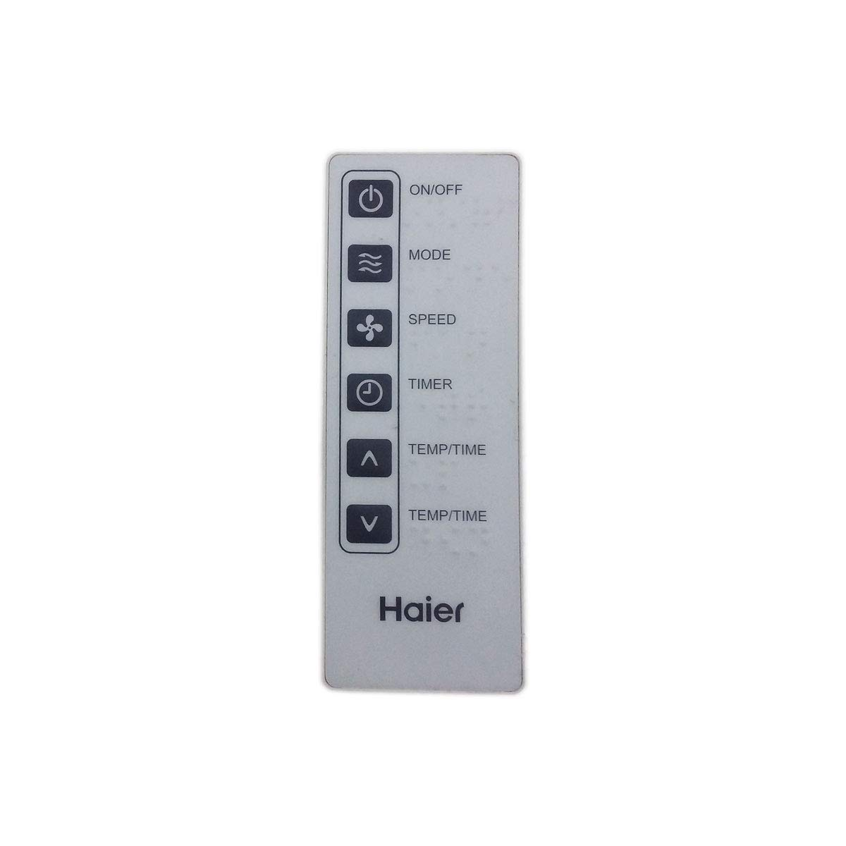 Factory Original Haier AC Remote Control/Works with Many Air Conditioners (A0010401791) by Haier