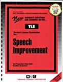 Speech Improvement, Rudman, Jack, 0837380596