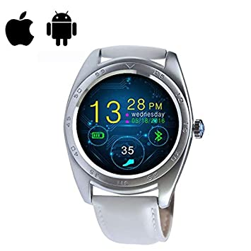 Smartwatch Montre Connectée Bluetooth Sport Watch Intelligent Montre,Podomètre,Moniteur de Sommeil, Calculateur