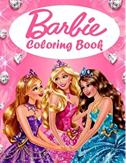 Barbie Coloring Book Great Coloring Book For Girls Woman Kids 56