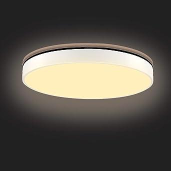28W plafones led techo, Sararoom plafon led Delgado redondo 2800k-6500k lamparas de techo habitacion 3 Tonos Led para comedor dormitorio pasillos sala ...