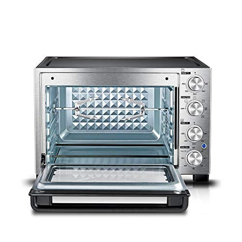 Toshiba Stainless Steel Convection Toaster Oven, MC32ACG-CHSS, New Model