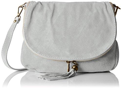 Chicca Shoulder 80057 Women Bags Borse grigio Gray rqrw8Tx