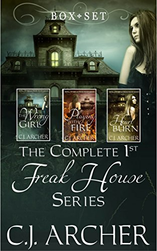 The Complete 1st Freak House Trilogy: Box set (The 1st Freak House Trilogy) cover