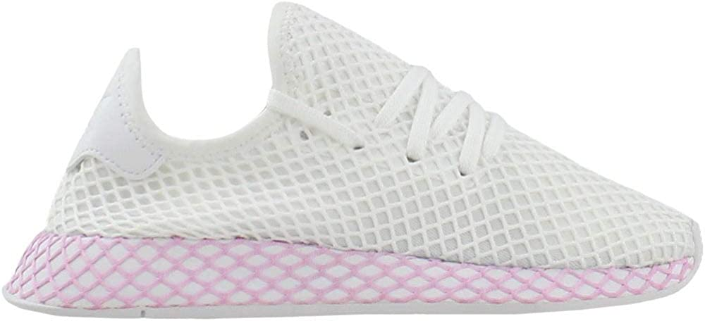 adidas Originals Deerupt Runner Shoe – Women s Casual 10 White Clear Lilac
