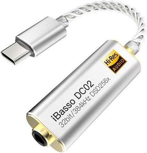 iBasso DC02. Cable amp/DAC para Auriculares con conexión 3.5mm ...