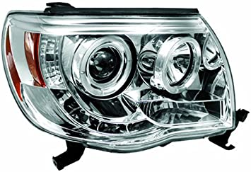 Pair IPCW CWS-2015B2 Toyota Tacoma Black Projector Head Lamp