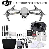 DJI Mavic Pro Platinum Collapsible Quadcopter Essential Travel Bundle