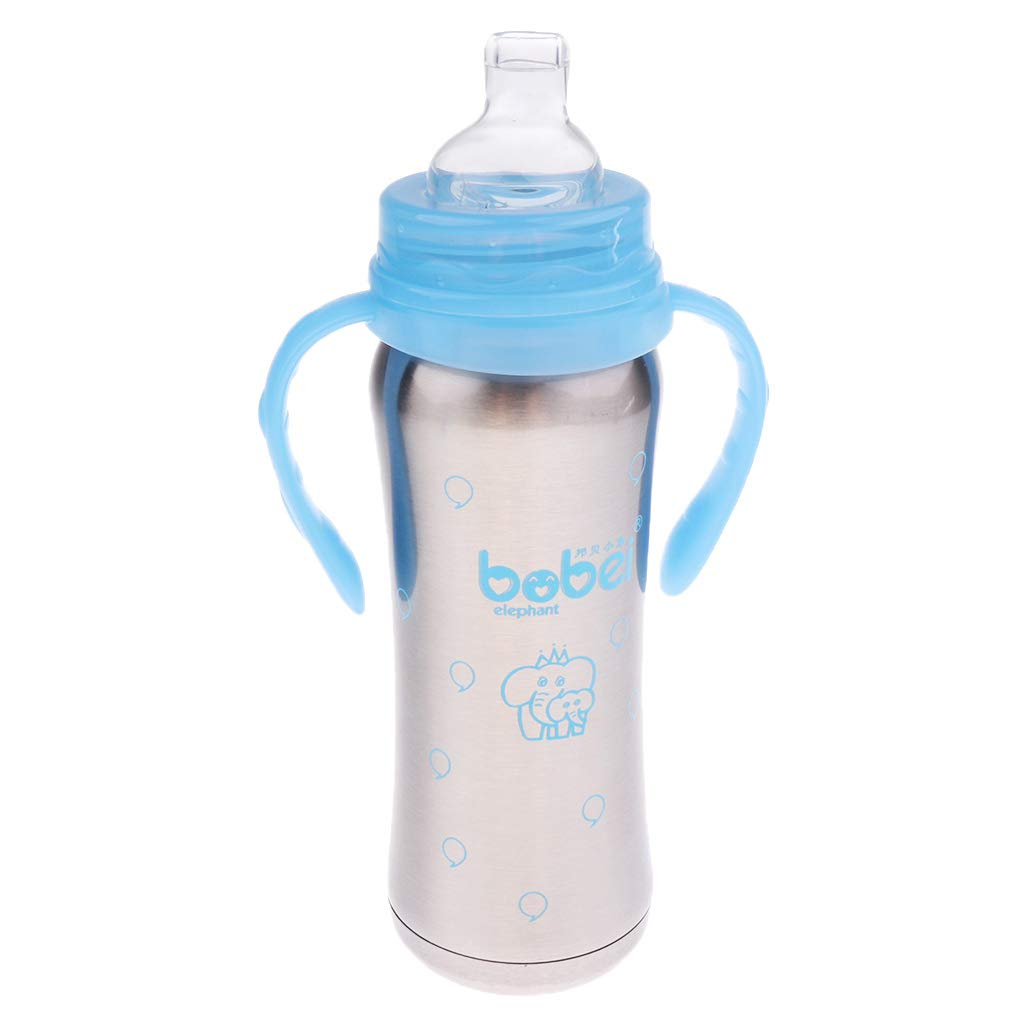 Amazon.com: Prettyia - Botella de acero inoxidable con ...