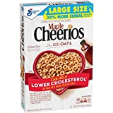 Maple Cheerios, Gluten Free Cereal with Whole Grain