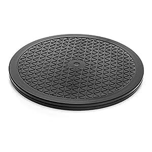 Aleratec 250334 Negro soporte de portátil - Soporte de regazo para portátiles y netbooks (Negro, 100 kg, 381 mm, 381 mm, 15,8 mm)