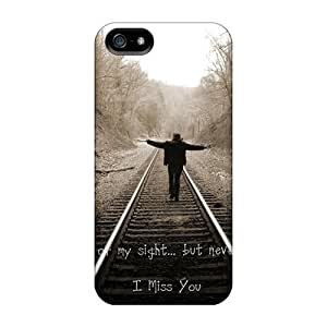 Protective Cases With Fashion Design For Iphone 5/5s (i Miss You)