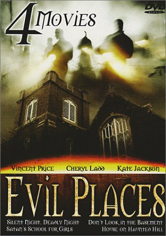 Evil Places (Silent Night, Bloody Night / Don't Look in the Basement / Satan's School for Girls / House on Haunted Hill) (Silent Hill 9)