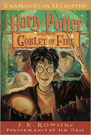 Harry Potter And The Goblet Of Fire Amazon Co Uk J K