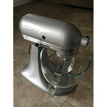 Kitchenaid Silver Metallic Artisan Stand Mixer