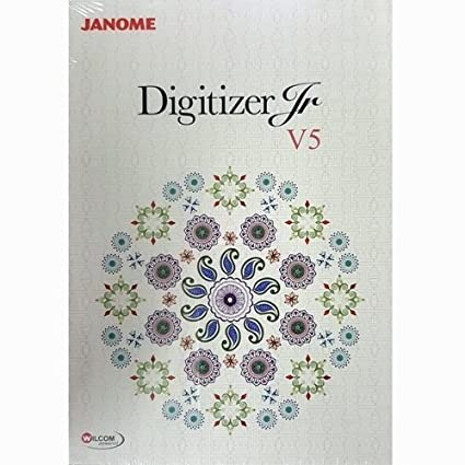 Janome - Programa de bordado DIGITIZER JR V5.0: Amazon.es: Hogar