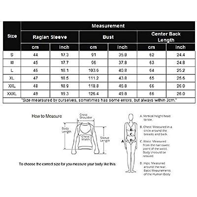 Zeagoo Women's Polka Dots Shirt Striped 3/4 Sleeve Casual Scoop Neck Tops Tee S-XXXL: Clothing