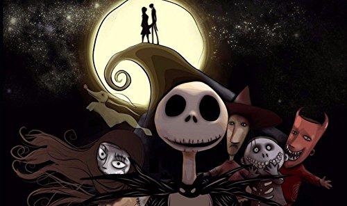 Jack Skellington The Nightmare Before Christmas Poster Movie (11 x -