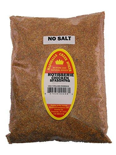 Marshalls Creek Spices Refill Pouch Rotisserie Chicken No Salt Seasoning, 11 Ounce