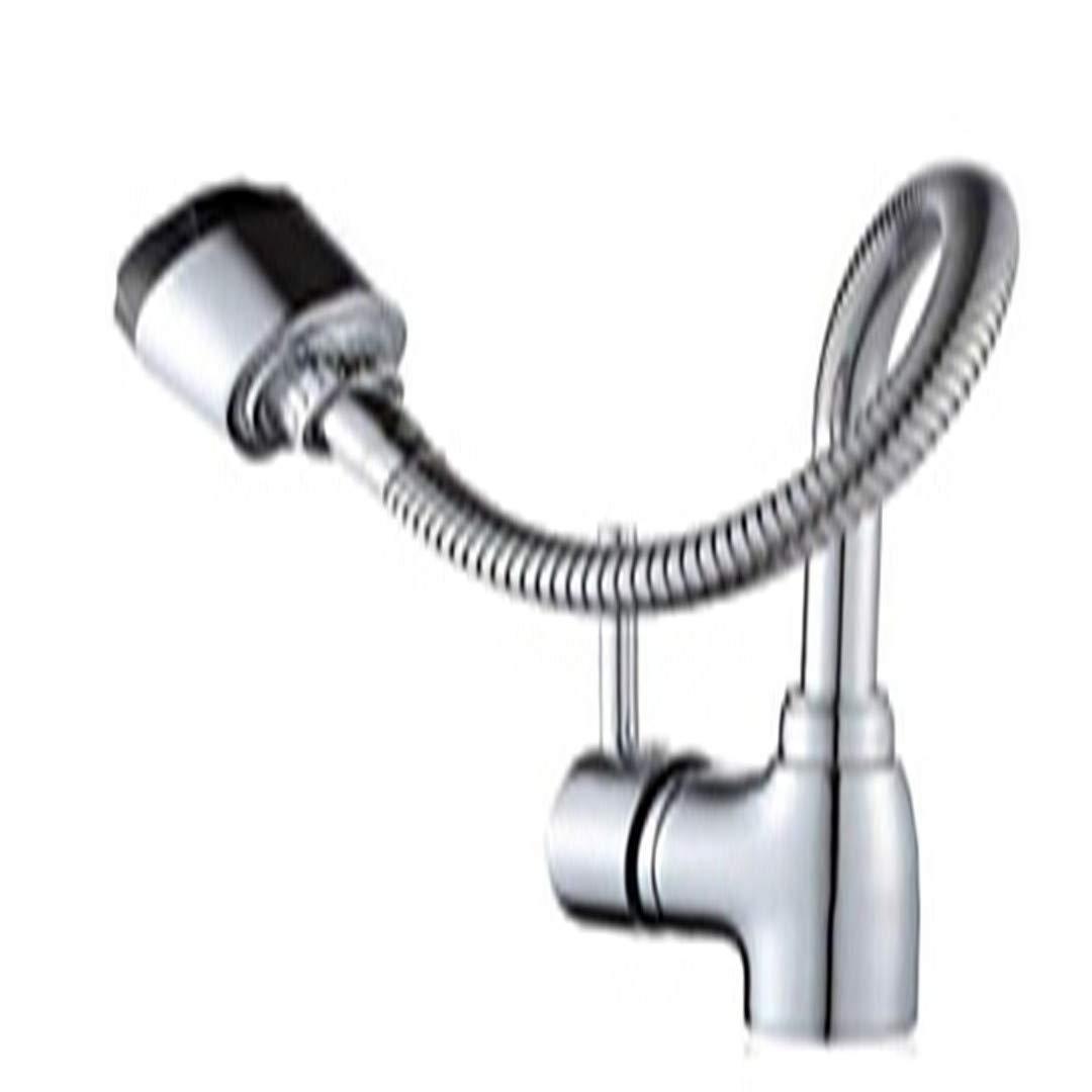 Waschtischarmaturen Spülbecken Wasserhahn, Pull Down Single Falte Flexible Chrom Wasserhahn