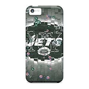 Iphone 5c Case Cover Skin : Premium High Quality New York Jets Case