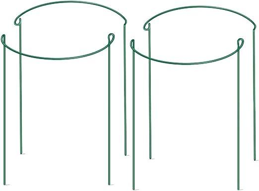 Supporti Per Piante Da Giardino Semicircolari In Metallo Paletto Di Supporto Da Giardino Anello Di Supporto Per Piante Da Giardino Gabbia Per Anello Di Supporto Per Piante Per Fiori Di Rose Vite