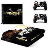Uncharted 4 A thief's end design decal for PS4 console skin sticker decal-design