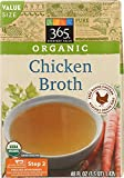 365 Everyday Value Organic Chicken Broth, Value Size, 48 Ounce