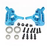 Aluminum Front Rear Steering Hub Base C Carrier & Lower Suspension Arm A959-05 Upgrade Kit For Wltoys A959 RC Car Buggy Parts